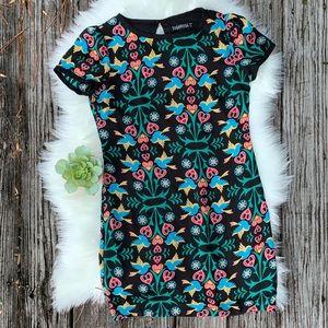 Sugarhill Boutique Boho Tattoo Print Dress Sz 6